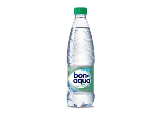 BonAqua среднегазированная 0,5л
