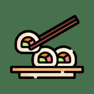 Роллы в темпуре